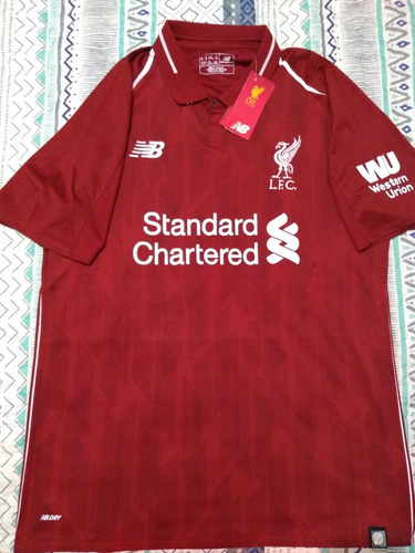 c7536ef091957 Camiseta Liverpool Local 2018-19