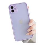 Carcasas Silicona Premium Colores Matte iPhone 11 / 11 Pro
