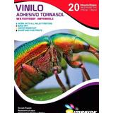 Vinilo Adhesivo Tornasol A4/20hojas.