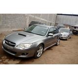 En Desarme Subaru Legacy Turbo Año 2009 Swap Completo