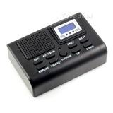 Grabadora Digital Telefonica Telefono Registro Id Reloj Lcd