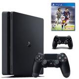 Sony Play Station 4 Slim 500gb + Fifa 16 + Control Ps4