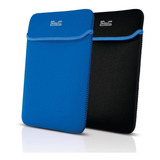 Funda Notebook 15,6  Klip X Reversible Negro/azul Neopreno
