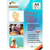Papel Fotográfico Doble Cara 200grs A4 50 Hojas