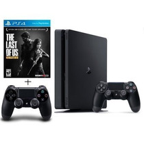 Consola 4 Ps4  + The Last Of Us + 2 Controles - Sniper Game