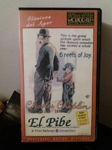 Peliculas Chaplin El Pibe (the Kid) Y La Clase Frívola Vhs