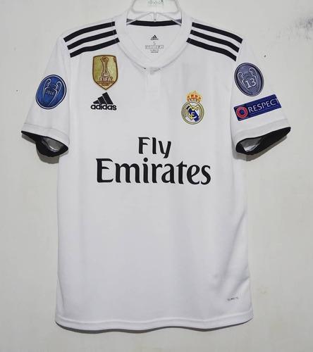 9d6734bbf Camiseta Real Madrid 2019 Titular Champions League