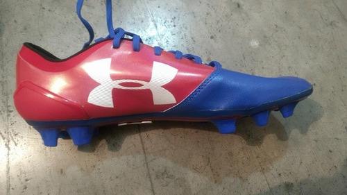 7d95de65e882e Zapatos Fútbol Under Armour Semipro Spotlight Bl Fg Nuevos
