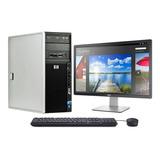 Pc Hp Z400 8 Cores, 8gb De Ram, Ssd 240gb, Win 10, Office 19