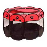 Corral Para Mascota Perro Gato Hurón Talla L