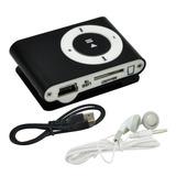 Reproductor Mp3 Radio Fm Shuffle Clip Mini Audifonos Libre