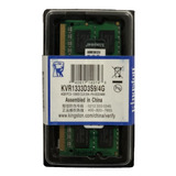 Memoria Ram Notebook Kingston Sodimm 4gb 1333mhz Pc3-10600
