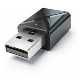 Trasmisor Y Receptor Mini Usb Bluetooth 5.0 Tv Aux / Rx - Tx