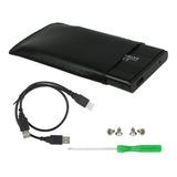 Cofre Disco Duro 2.5  Usb 2.0 Cable Doble  Y  Sata O Ide