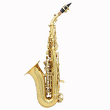 Lade  Golden Brass Carve Patrn Bb Doblado Althorne Saxof