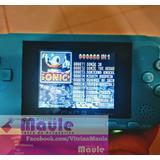Mini Consola Juegos Sega 16 Bits Con Cable Para Tv Y Batería