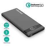 Hokonui - Batería Externa Para iPhone X/8/8 Plus, Samsung Ga