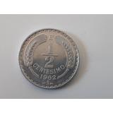 Moneda Chile 1/2 Centesimo 1962  Al Casi Sin Circ (148ch