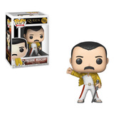 Figura Funko Pop Queen - Freddie Mercury Wembley (96)