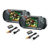 Pack X2 Consola Portatil 16bit Nintendo Pxp3 Slim 1gb Tv Out