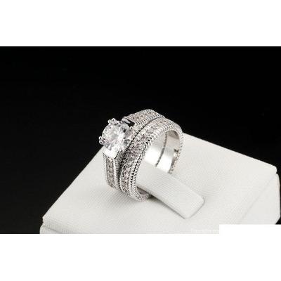 ca97429fef28 Compra Precioso Anillo Compromiso Plata Cristales Austríacos