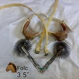 Espuelas Taloneras Piales 3.5 P Aperos Ríobueno Mcstore