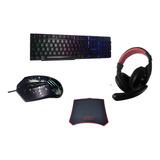 Pack Gamers Mouse Gamer Teclado Gamer Razer Led Kit Teclado