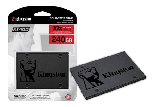 Ssd Kingston 240gb A400 Sata 3 2.5