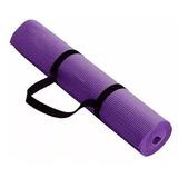 Colchoneta Mat Yoga Pilates Deporte 4 Mm
