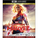 Capitana Marvel 4k/ Bluray/ Digital Hd Edición Americana
