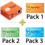 Sigma Box + Pack 1, Pack 2 Y Pack 3 - Repara Imei Desbloquea