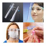 Protector Facial Certificado Alta Calidad Con Gafas/escudo