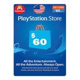 Tarjeta Psn Card $60 Dolares Usa || Kaisergamescl
