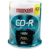 Cd-r Bulk 100 Ud 80 Minutos 700mb Maxell