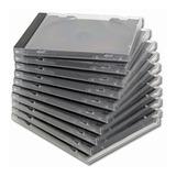 Cd Caja Gruesa 10mm Simple X50 Unidades Flexmicro