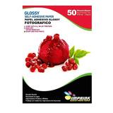 Papel Adhesivo Fotografico, 250 Hojas.135g, A4. Envío Gratis