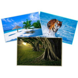 Papel Fotografico Glossy  3d 120 Gr Tamaño A4 50 Hojas