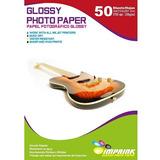 Papel Fotografico Glossy Brillante A4 De 230gr/50 Hojas