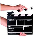 Claqueta Accion Para Cine Youtube  Instagram Videoclips