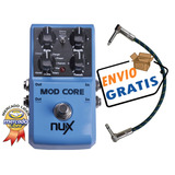 Nux Mod Core - Chorus Flanger Phaser Pedal Efecto + Cable