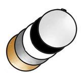 Reflector Fotografico 5 En 1, 110cms, Entrega Inmediata