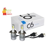 Kit Luces Led Para Auto C6 H1 H3 H4 H7 H11 9005 9006 880