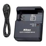 Cargador Nikon Modelo Mh-23 Bateria En-el9