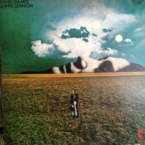 Vinilo John Lennon - Mind Games Edición Japonesa