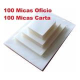 Láminas Termolaminado 100 Oficio Y 100 Carta Envio Gratis
