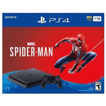 Consola Ps4 Slim 1tb Spiderman Pack, 6 Cuotas