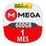Cuentas Premium Mega 30 Dias 1 Mes Oficial 600gb Mensual