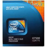 Procesador Intel Core 2 Duo E7500 Socket 775 2.93ghz Pc