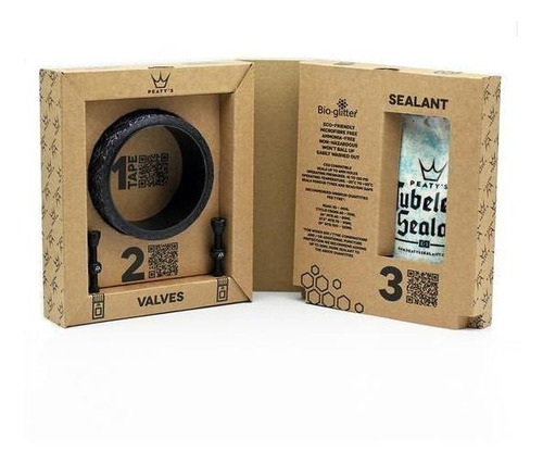 Kit Para Tubular 25mm Peaty's