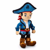 Muñeco Grande Peluche Capitan Jake Pirata Original Disney